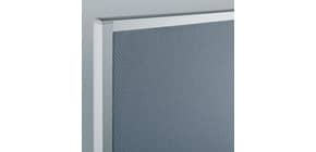 Kombitafel 120x180cm grau SIGEL MU011 Produktbild