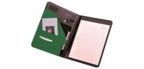 Schreibmappe A4 grün ALASSIO 30085 Messina Produktbild