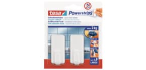 Powerstrips Haken classic weiß TESA 58010-00044-01 Large 2kg Produktbild