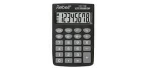 Taschenrechner schwarz REBELL RE-HC108BX Produktbild