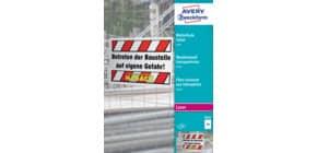 Polyesterfolie A4 100BL weiß ZWECKFORM 3487 A4 Opak wetterfest Produktbild