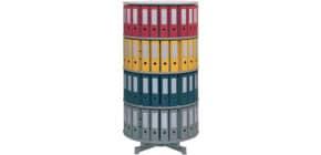 Ordnerdrehsäule 4 Etagen grau R2081B4 D81cm Produktbild