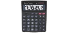 Tischrechner schwarz REBELL RE-PANTHER12BX Solar/Batterie Produktbild