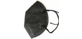 Atemschutzmaske FFP2 schwarz FAMEX 646092 CE2841 Produktbild