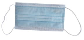 Mund- und Nasenschutzmaske blau/weiß 000512 PFE 95% Produktbild