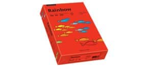 Kopierpapier A4 160g intensivrot RAINBOW 88042483 250 Blatt Produktbild