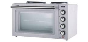 Backofen Kleinküche weiß SILVA HOMELINE KK 2900 Produktbild