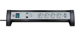 Verteilersteckdose USB schwarz/grau BRENNENSTUHL 1156350514 Überspannung Produktbild