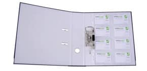 Visitenkartenhülle A4 glasklar Q-CONNECT KF15417 110my Produktbild
