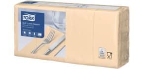 Serviette Zelltuch 150ST 3-lag. ivory TORK 477884 1/8 Falz Produktbild