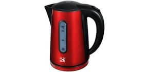 Wasserkocher 1,7 l rot-met. KALORIK WK 1020 R Produktbild