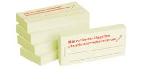 Haftnotiz beide Ehegatt.unter. 1301010104 75x35mm 5Bk Produktbild