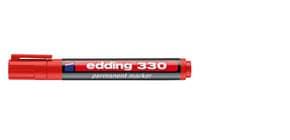 Permanentmarker 330 1-5mm rot EDDING 330-002 Keilspitze nachfüllbar Produktbild