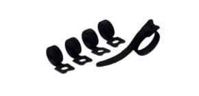 Kabelbündler Klettband 5ST schwarz DURABLE 5036 01 CAVOLINE Produktbild