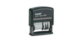 Stempel Wortband mit Datum TRODAT Printy 4817 Produktbild