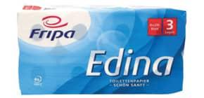 Toilettenpapier 3-lag. 8RL weiß FRIPA 1010810 Edina Produktbild