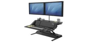 Bildschirmträger Workstation schwarz FELLOWES FW8081001 Lotus DX Produktbild