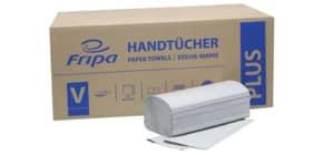Falthandtuch 1-l.5000ST grau FRIPA 4011103 Plus Produktbild