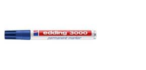 Permanentmarker blau EDDING 3000-003 1,5-3mm Produktbild
