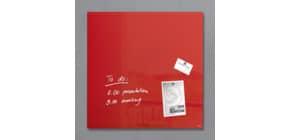Magnettafel Glas rot SIGEL GL114 480x480x15mm Produktbild