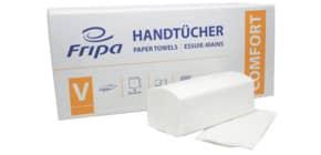 Falthandtuch 2-l.3000ST weiß FRIPA 4042101 Comfort Produktbild
