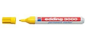 Permanentmarker 3000 1,5-3mm gelb EDDING 3000-005 Rundspitze nachfüllbar Produktbild