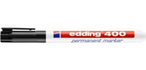 Permanentmarker schwarz EDDING 400-001  1mm Produktbild