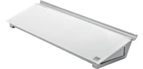 Memoboard Glas Desktop weiß NOBO 1905174 Produktbild