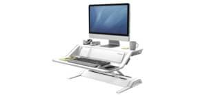 Bildschirmträger Workstation weiß FELLOWES FW8081101 Lotus DX Produktbild