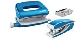 Locher + Hefter WOW metallic blau LEITZ 5561-20-36 Produktbild