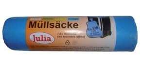 Müllsack 120l 10 Stück blau JULIA A52089/6430LA Produktbild