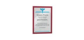 Magnetrahmen DURAFRAME® A4 DURABLE 4872 03 sk rot 2 Stück Produktbild