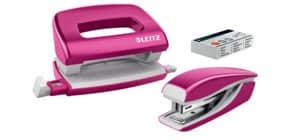 Locher + Hefter WOW Mini pink LEITZ 5561-20-23 NeXXt Produktbild