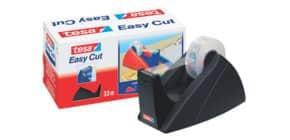 Tischabroller 19mmx33m schwarz TESA 57421-00001-02 Easy Cut leer Produktbild