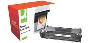 Lasertoner schwarz Q-CONNECT KF04780 Q2612A Produktbild