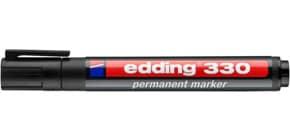 Permanentmarker 330 1-5mm schwarz EDDING 330-001 Keilspitze nachfüllbar Produktbild