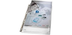 Prospekthülle Maxi A4 genarbt LEITZ 4755-30-03, 3 Stück Produktbild