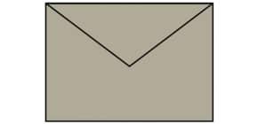 Briefhülle Paperado taupe RÖSSLER 164020411 B6 Produktbild