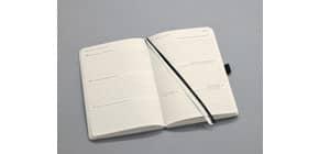 Buchkalender 2021 ca. A6 schwarz CONCEPTUM C2107 1 Woche/ 2 Seiten Produktbild