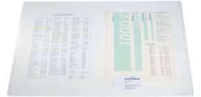 Schreibunterlage 40x53cm transparent DURABLE 7112 19 Produktbild