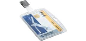 Ausweishalter mit Clip 25ST DURABLE 8005 19 54x85 Produktbild