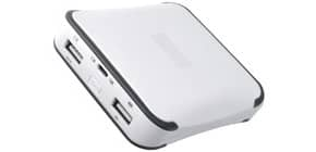 Ladestation 10.400mAh ws/grau MEDIARANGE MR744 Powerbank Produktbild