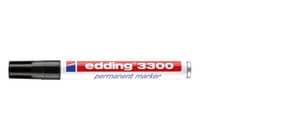 Permanentmarker 3300 1-5mm schwarz EDDING 3300-001 Keilspitze nachfüllbar Produktbild