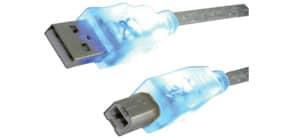 Verbindungskabel USB 2.0 blau MEDIA RANGE MRCS109 1,8m Produktbild
