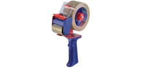 Verpackungsbandabroller blau/rot TESA 06300-00001-00 50mm x66m Produktbild