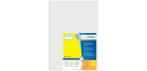Folienetiketten 297x420 gelb HERMA 8037 50 Stück A3 wetterfest Produktbild