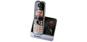 Telefon schnurlos schw/tit PANASONIC KX-TG6721GB 1Mobilte Produktbild