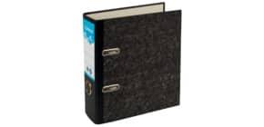 Ordner ÖKO A5 7,5cm schwarz-marmoriert DONAU 3805001-13 Produktbild