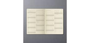 Buchkalender 2021  A5 schwarz CONCEPTUM C2110 Produktbild