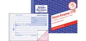 Kassa-Ausgangsbuch A6q 2x40Bl AVERY ZWECKFORM 1710 selbstd. Produktbild